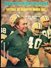 Sports Illustrated 1975 Green Bay Packers Bart Starr Label Removed Excellent