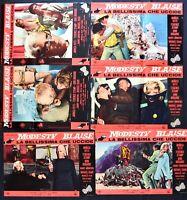 Fotobusta Modesty Blaise Monica Vitti Terence Stamp Dirk Bogarde Craig Andr R188