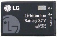 OEM LG LGIP-431A BATTERY For LG UX220 CB360 CE110 CP150 220C UX585 INVISION CE10