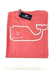 Vineyard Vines Long Sleeve Graphic Pocket Tee Vintage Whale - Lobster Reef L