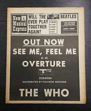 NME Magazine Feat The Who: October 17th 1970