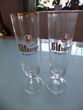 2 Bitburger Biergläser