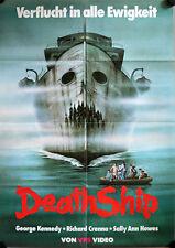 Death Ship German video Movie Poster A1 George Kennedy, Richard Crenna, Mancuso