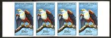 "Senegal  1960-63  Birds "" Fish Eagle "" Scott# C32 - Imperf Strip 04 - MNH"