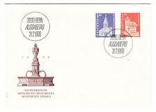Schweiz  FDC Ersttagsbrief 1966 Freimarken  Mi.Nr.831+32