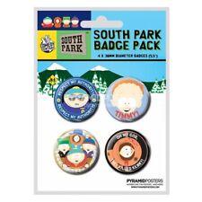 South Park Ansteck-Pin Badges 4 Stück