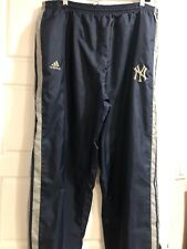Vintage Adidas New York Yankees Track Pants Navy Blue with 3 stripes, Men's XL