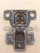 "Salice 106 Face Frame 1/2"" Overlay 3 Cam Screw On Concealed Cabinet Hinge 1 pc."