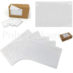 PLAIN DOCUMENTS ENCLOSED WALLETS (A7/A6/A5/A4/DL) *ANY QTY* Labels/Slips/Pouch