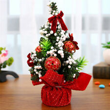 20cm Mini Christmas Tree Decor Desk Table Festival Party Ornament Xmas Gift