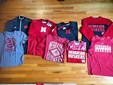 Nebraska Huskers Adidas Football Jacket Sweatshirt Shirt HUGE Lot (8) Some NWT