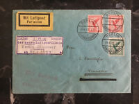 1928 Berlin Germany  FFC first flight cover to Hannover Airmail