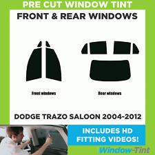 Pre Cut Window Tint - Dodge Trazo 4-door Berlina 2004-2012 - Full Kit
