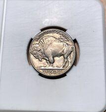 1935 S Buffalo Nickel - High Grade - Full Original Date - Full Sharp Horn - 5c