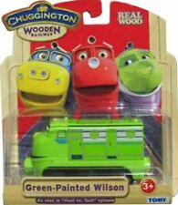 CHUGGINGTON WOODEN RAILWAY LTD ED GREEN PAINTED WILSON TRAIN NEW fits Thomas W.R