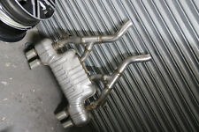 Original BMW M4 Quad Rohr Gehäuse System Boysen 7850083 7854735