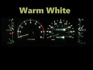 Gauge Cluster LED Dashboard Bulbs Warm White For 84 88 Toyota Pickup SR5 4Runner