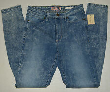 NEW GUESS 1981 HIGH-RISE SKINNY JEANS IN STONE THORNS WAHS SIZE 30 RG!!!