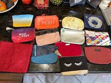 Ipsy Makeup Cosmetic Bags Empty New - Lot of 12