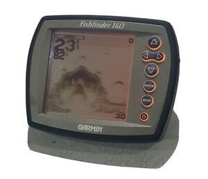 Garmin Fishfinder 140 Fish Locator Sonar Head Unit **30 Day Warranty**