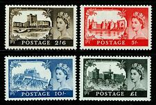 SG595-598, COMPLETE SET, M MINT. Cat £195. DE LA RUE