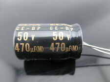 2PCS Elna Capacitors RBD 470uf 50V 470mfd Audio Series Bi Polar Capacitors