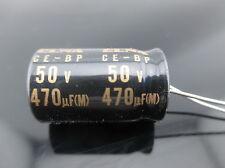 6PCS Elna Capacitors RBD 470uf 50V 470mfd Audio Series Bi Polar Capacitors
