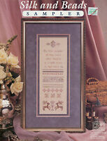 Silk & Beads Sampler New Cross Stitch Pattern