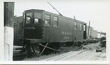 6B978 RP 1946 MONTREAL & SOUTHERN COUNTIES RAILWAY SWEEPER #302 ST LAMBERT PQ