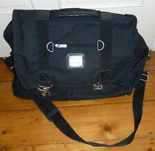 BLACK PIERRE CARDIN SHOULDER TRAVEL/HAND LUGGAGE WEEKEND BAG