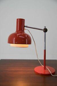 70er NAPAKO HURKA MIDCENTURY TISCHLAMPE TISCHLEUCHTE CZECH 70s DESK LAMP VINTAGE