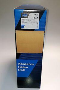 Rouleau Norton Papier Abrasif Souple Tampons 115 MM X 25 M Mousse A295 Grains