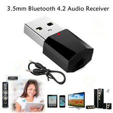 Portable USB Bluetooth Adapter Dongle 4.2 Music Aux Adapter Receiver Transmitter