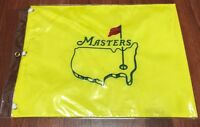 UNDATED Masters Flag SHIPS FLAT Embroidered Augusta National Golf Pin Flag NEW