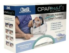 CPAPMax Pillow 2.0 & Pillow Cover CPAP Compliance for Sleep Apnea Therapy SEALED