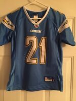 LaDAINIAN TOMLINSON #21 San Diego Chargers Youth Boy's Small JERSEY Reebok NFL