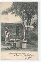 CPA AFRIQUE , SIERRA LEONE , WOMEN SELLING GINGER BREAD