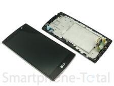 ORIGINALE LG g4s h735 modulo display LCD vetro quadro Chassis Nero