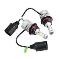 2x 9007/HB5 LED Headlight 60W Hi-Lo Beam LED Bulbs Kit White 6500K COB 12000LM