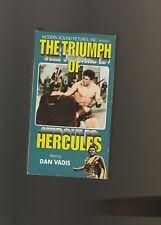 Triumph of Hercules (VHS, 2000)