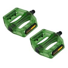 """Translucent Resin Body FX-1X2 Pedals 9/16"""" Green"""