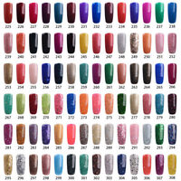 RS NAIL Gel Nail Polish UV LED Soak Off All Glitter Colors 15ml