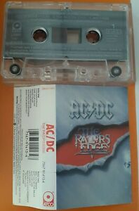 AC/DC The razors Edge  Cassette  Made in Italy