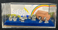 VINTAGE 1983 COLLECTIBLE PEWTER WELCOME NOAH'S ARK HUDSON LANCE MINI WORLD