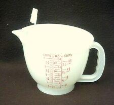 TUPPERWARE MIX-N-STOR 4 CUP/ 1 LITER MEASURING CUP W/LID #1288/1289/697