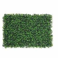 Artificial Ivy Leaf Hedge Mat Fence UV-Proof Fake Plant Grass Wall Panel 40x60cm