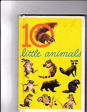 10 little animals---Carl Memling---Feodor Rojankovsky---hc---1961
