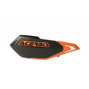 ACERBIS X-ELITE MTB HANDGUARDS BLACK/ORANGE MOUNTAIN BIKE, DOWNHILL MTB E-BIKE