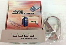Internal USB 2.0 4 Port Hub Brand New In Box