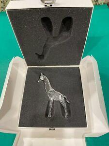 Swarovski Crystal Baby Giraffe Mint Condition! - 236717